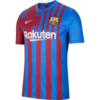 FC Barcelona 2021/22 Stadium Home Mens Soccer Jersey