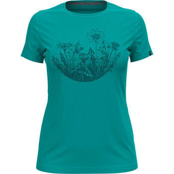 W Kumano Print T-shirt s/s