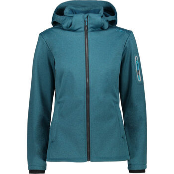Woman Jacket Zip Hood Softshell