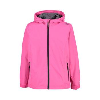 Girl Jacket Fix Hood Softshell