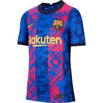 JR FC Barcelona 2021/22 Stadium Third Big Kids Soccer Jersey