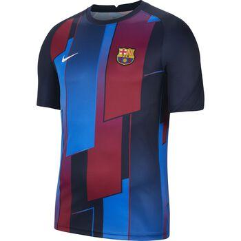 FC Barcelona Mens Pre-Match Short-Sleeve Soccer Top