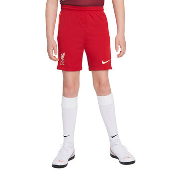JR Liverpool FC 2021/22 Stadium Home Big Kids Soccer Shorts