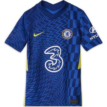 JR Chelsea FC 2021/22 Stadium Home Big Kids Soccer Jersey