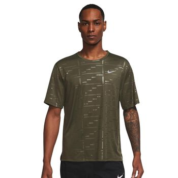 Dri-FIT UV Run Division Miler Mens Embossed Short-Sleeve Running Top