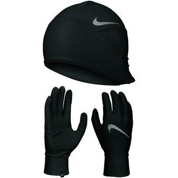 Mens Essential Run Hat + Glove Set