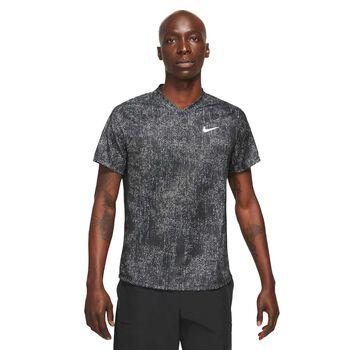 NikeCourt Dri-FIT Victory Mens Printed Tennis Top
