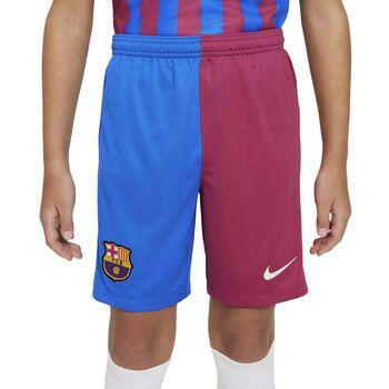 JR FC Barcelona 2021/22 Stadium Home/Away Big Kids Soccer Shorts