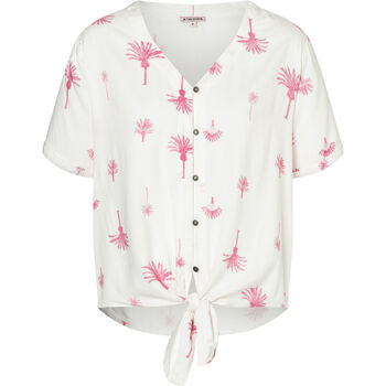 Printed Knot Blouse