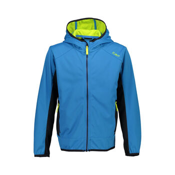 Boy Jacket Fix Hood Softshell