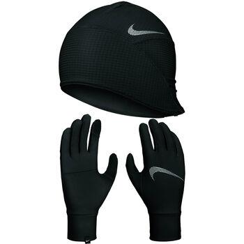 Wmns Essential Run Hat + Glove Set