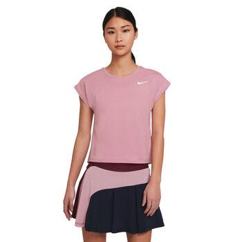 WMNS NikeCourt Victory Womens Short-Sleeve Tennis Top