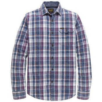 LS Shirt Indigo Check