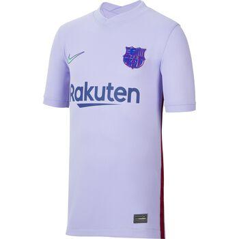 JR FC Barcelona 2021/22 Stadium Away Big Kids Soccer Jersey